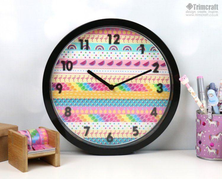 Aprenda como Fazer Decoração de Relógio de Parede