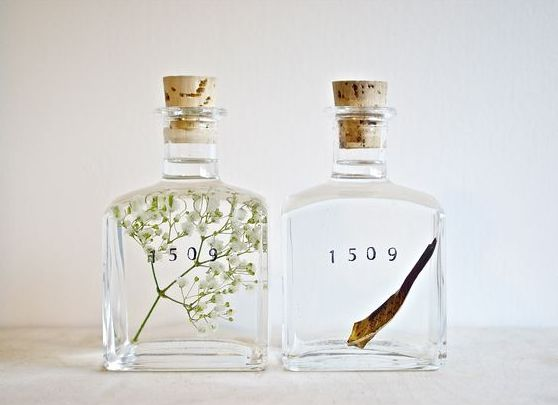 Artesanatos com Vidro de Perfume Vazio