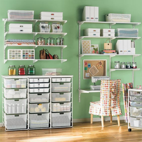 small craft room storage ideas ideias de decora 231 227 o para atelier de artesanato 7158