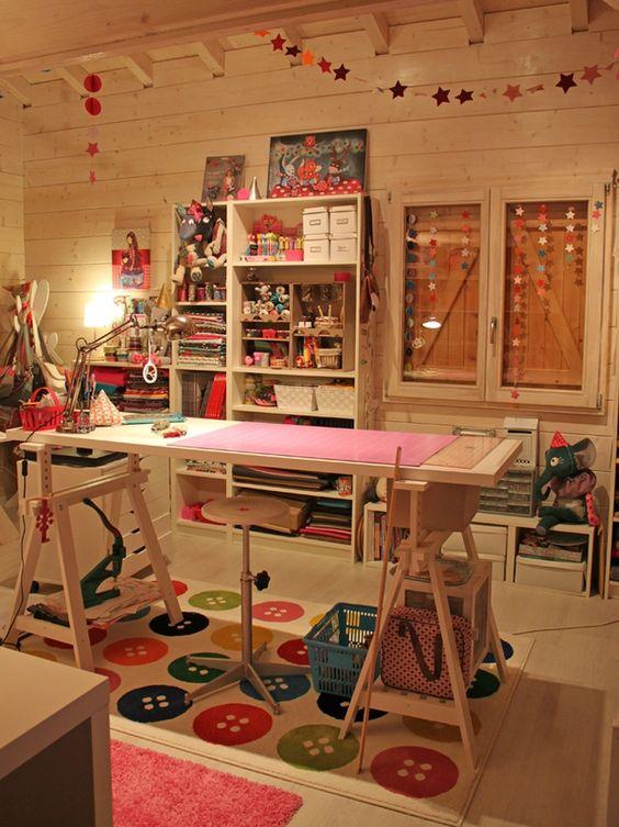 Ideias de decora o para atelier de artesanato for Decora la stanza girlsgogames