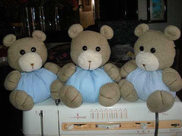ursos de fuxico