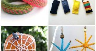 Artesanatos com Linhas e Lãs