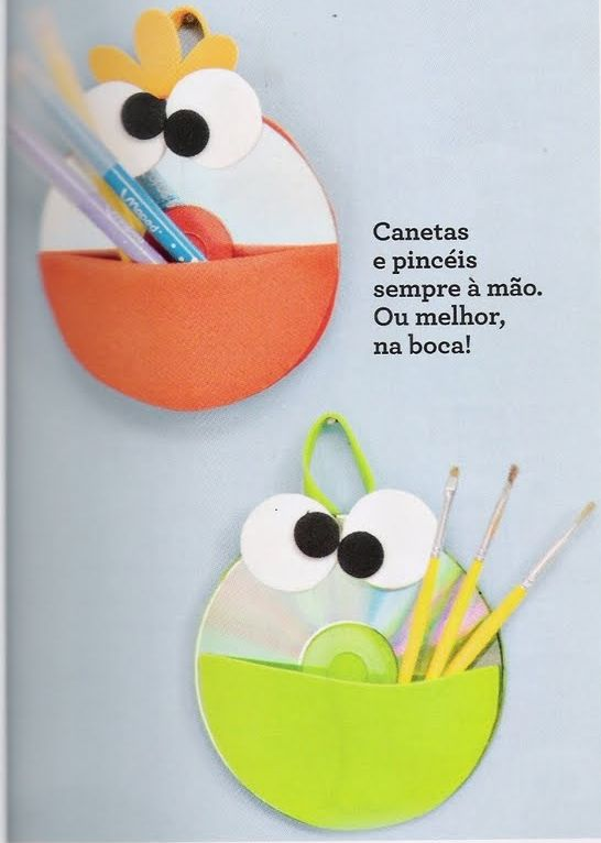Artesanatos com CD