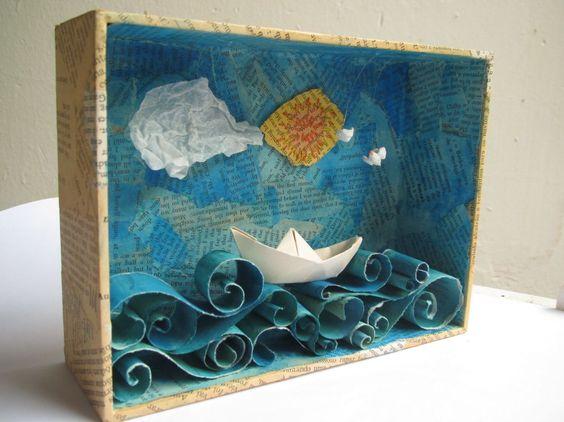 Artesanatos Feitos com Caixas de Fósforo