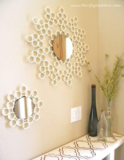 ideias criativas de artesanatos   espelhos   artesanato