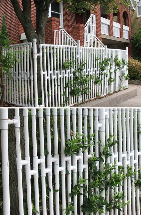 cerca de jardim em pvc : cerca de jardim em pvc:Creative Uses for PVC Pipe