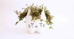 Ideias de Artesanatos Feitos com Garrafa Pet