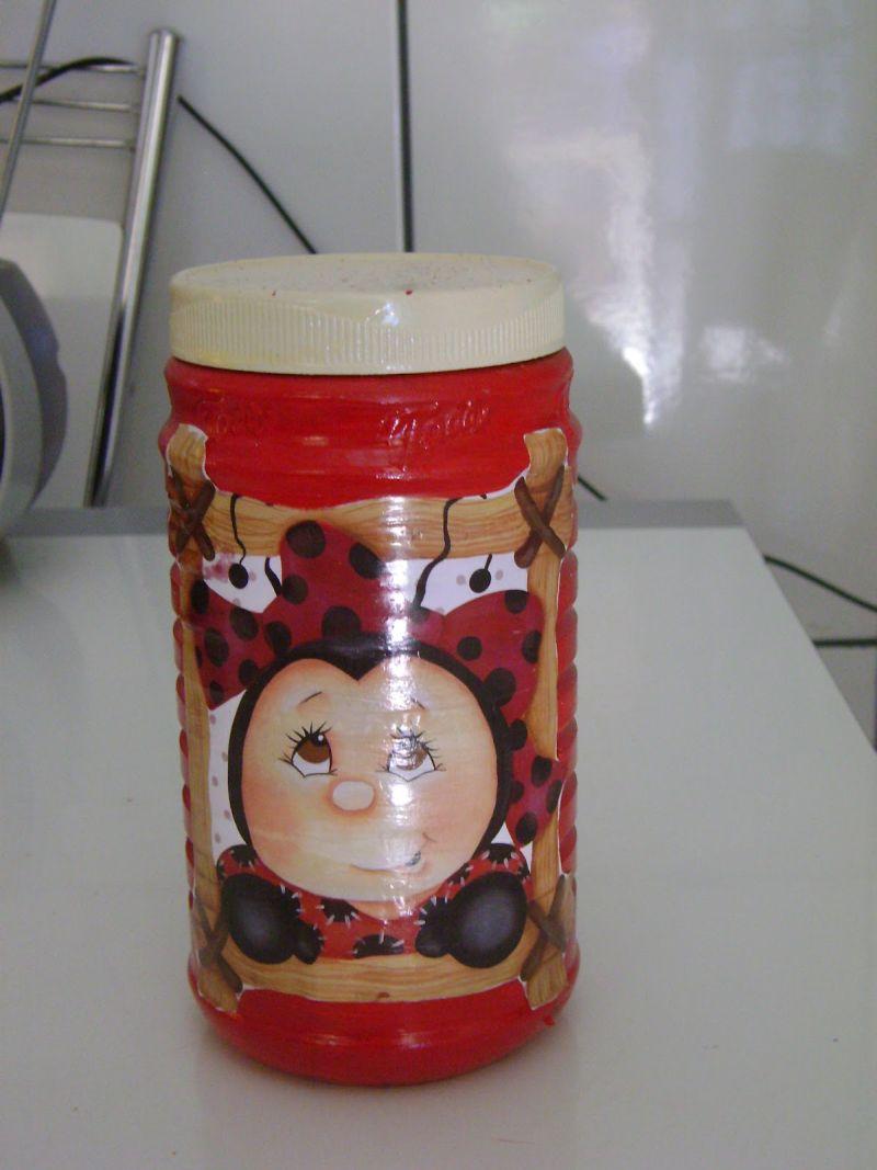 Artesanatos com Pote de Toddy