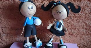 Há lindíssimos modelos de bonecas fofuchas (Foto: alessandracantinhodaarte.blogspot.com)