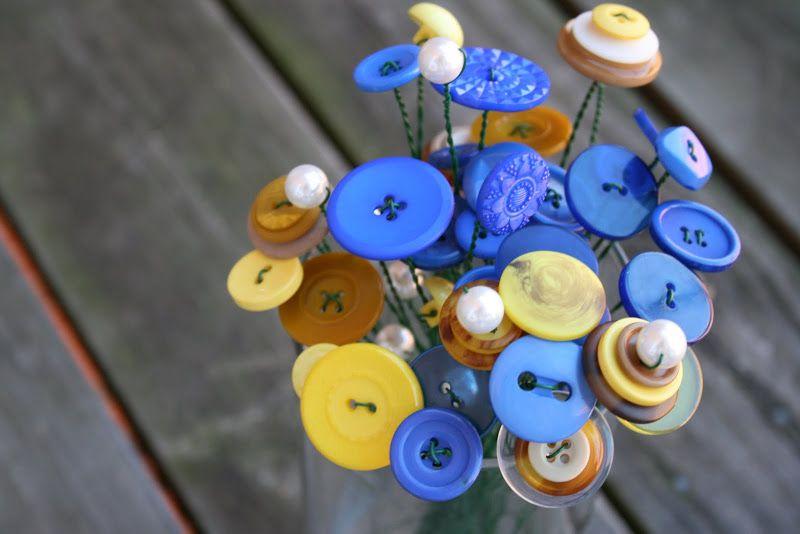 Artesanatos Feitos com Botões