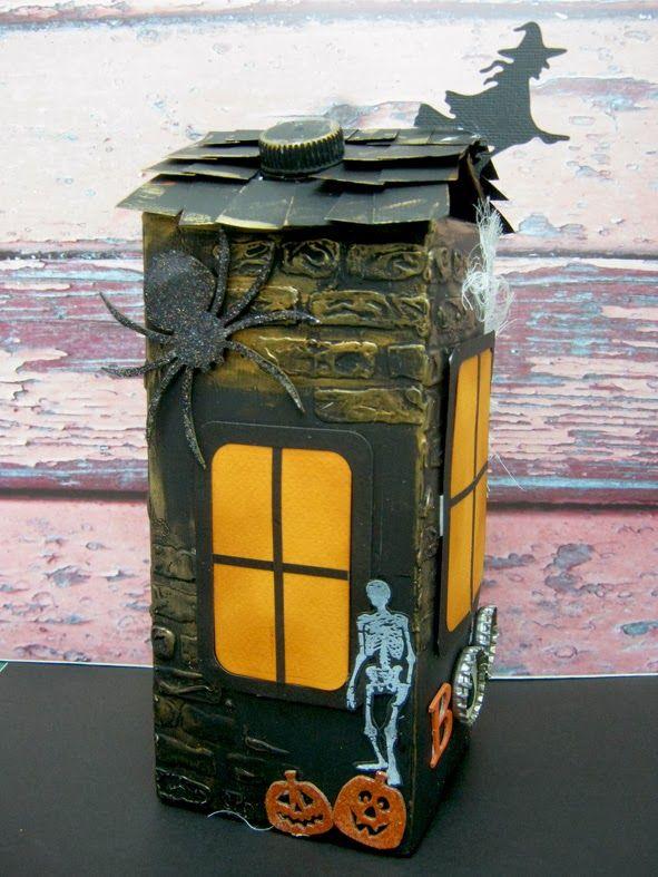Artesanatos com Caixa de Leite