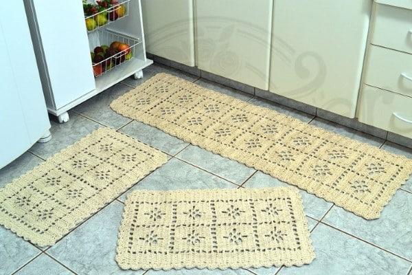 conjunto de cozinha de croche passo a passo