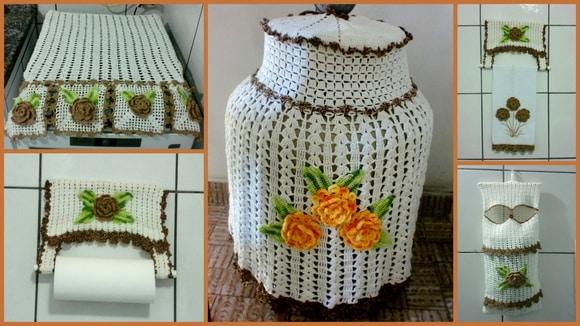 como fazer capa de bujão de crochê