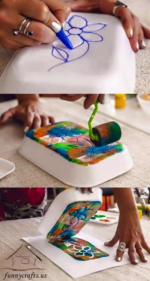 Artesanatos com Pratos de Isopor