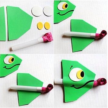 Artesanatos Escolares para Dia das Crianças