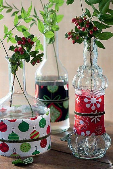 decoracao arvore de natal reciclavel : decoracao arvore de natal reciclavel:Decoração de Mesas de Natal com Material Reciclado – Artesanato
