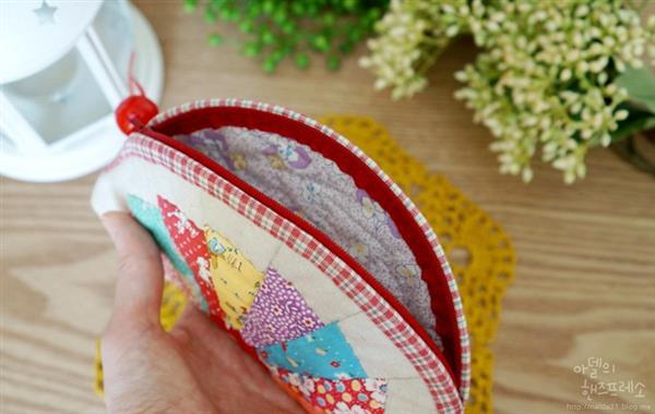 toalhas de banho bordadas em patchwork