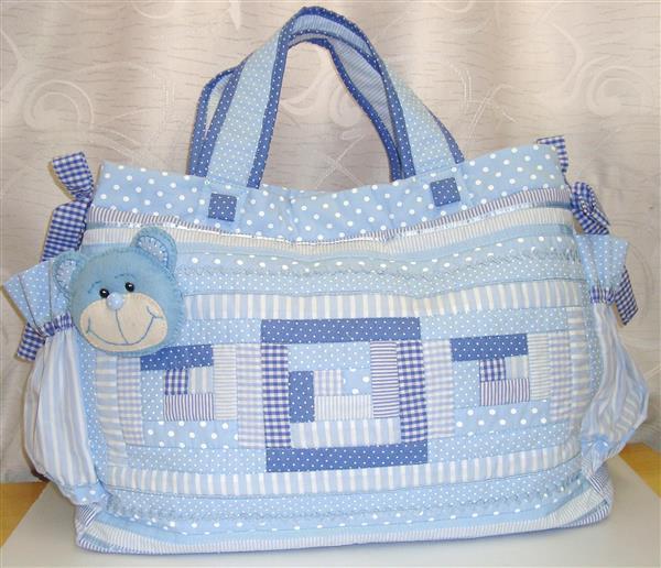 Bolsa De Tecido Bebe : Ideias de artesanatos com patchwork artesanato passo
