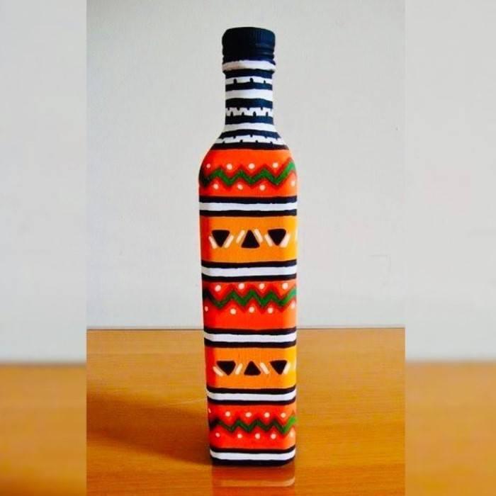 ideias com garrafas