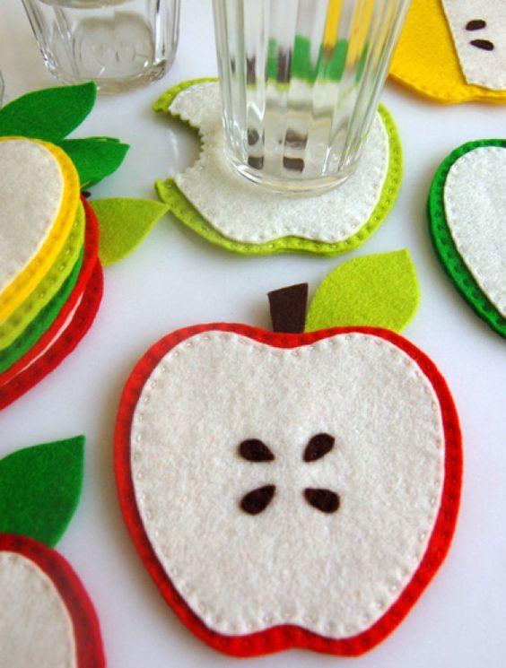 23 ideias de artesanato em feltro para cozinha for Porta kinder