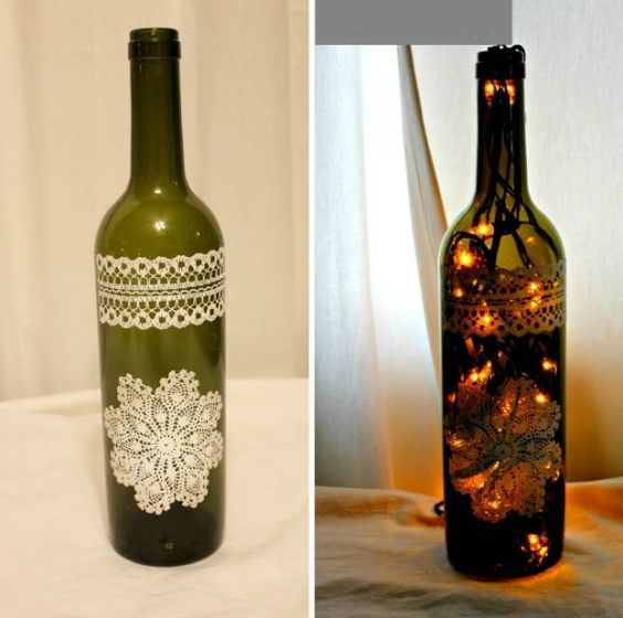 11 Ideias de Artesanatos com Vidro de Azeite Artesanato