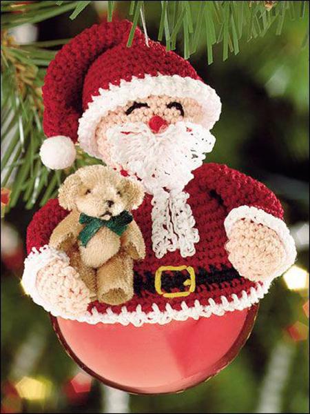 Dicas de Papai Noel de Crochê