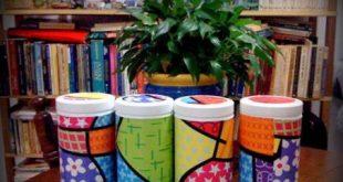 Dicas de Artesanato com Potes de Herbalife