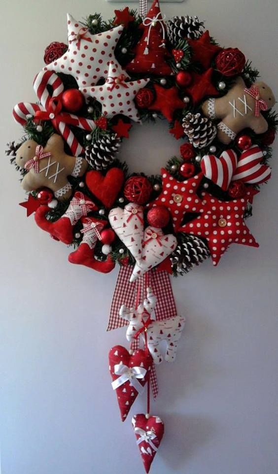 Dicas de Artesanato de Natal com Retalhos