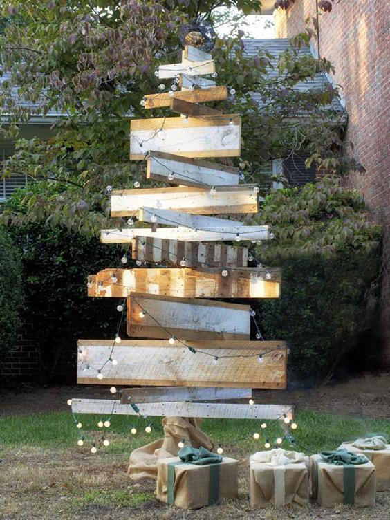 enfeites de natal para jardim passo a passo : enfeites de natal para jardim passo a passo:10 Artesanatos de Natal para o Jardim – Artesanato passo a passo!