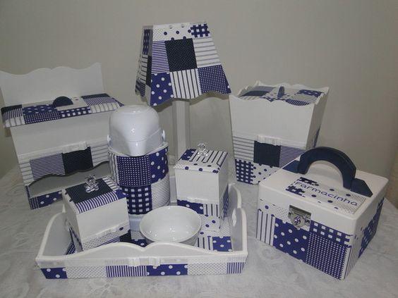 Aparador Antigo Laqueado ~ 20 Ideias de Kits de Higiene para Beb u00eas Artesanato Passo a Passo!