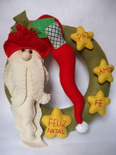 Dicas de Guirlandas de Natal em Feltro