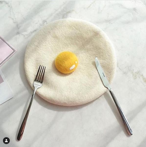 ovo feito em feltro