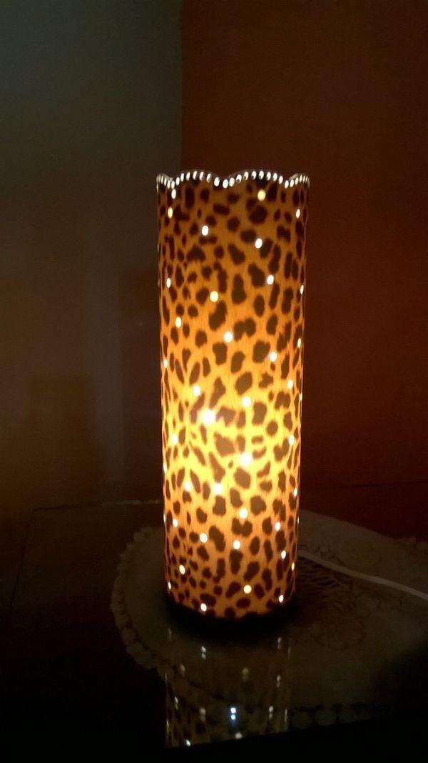 Aparador Vintage El Corte Ingles ~ Artesanatos com Luminárias de PVC Artesanato Passo a Passo!