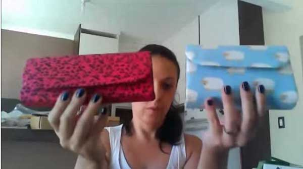 Bolsa De Mão Artesanal Como Fazer : Bolsas artesanais feitas com caixas de leite