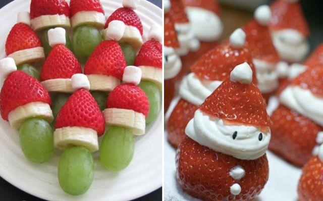 Decoraç u00e3o de Mesa de Ano Novo com Frutas 15 Ideias Artesanais Artesanato Passo a Passo! # Como Decorar Frutas Para Ano Novo