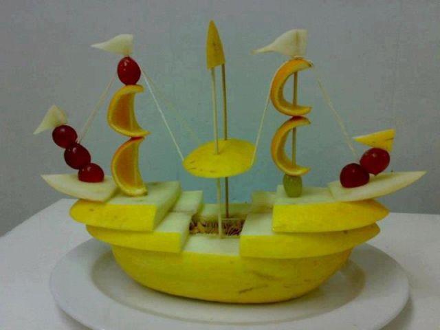 Dicas de decoração de Mesa de Ano Novo com Frutas
