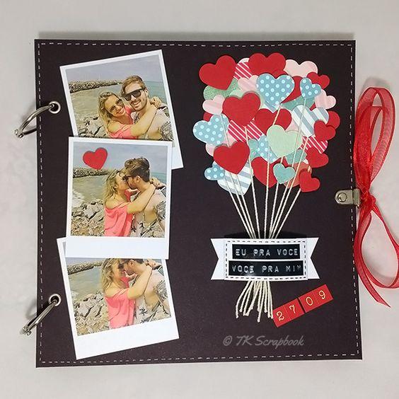 Scrapbooking ideias de artesanato passo a passo artesanato passo a passo - Decorar album de fotos por dentro ...