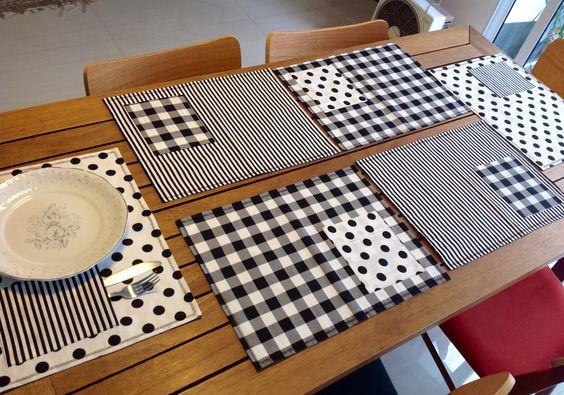 Artesanato Em Tecido Para Cozinha ~ Artesanato com Jogo Americano Artesanato Passo a Passo!