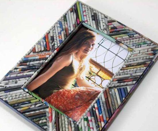 Dicas de Artesanatos Feitos em Porta-Retrato