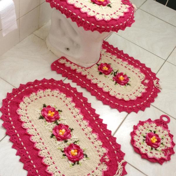 27 Artesanatos para Banheiro Pequeno  Artesanato Passo a Passo! # Artesanato Banheiro Pequeno