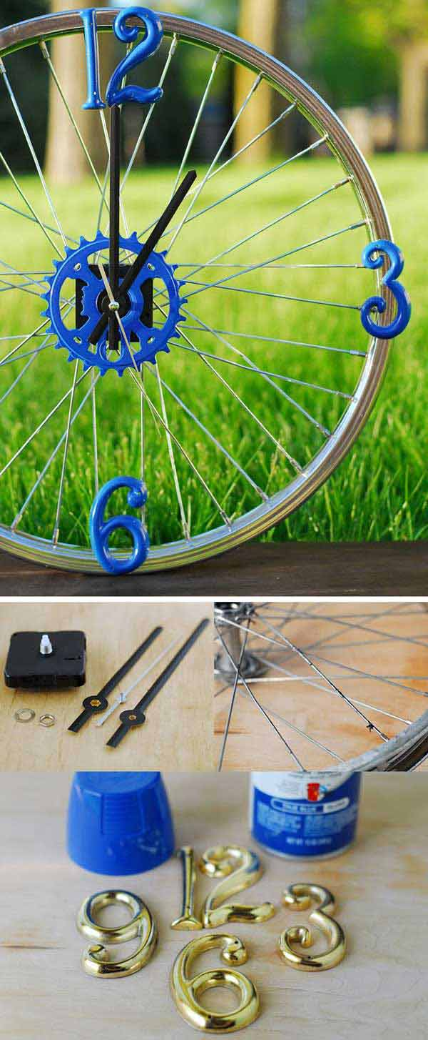 Dicas de Artesanato Feito com Aro de Bicicleta