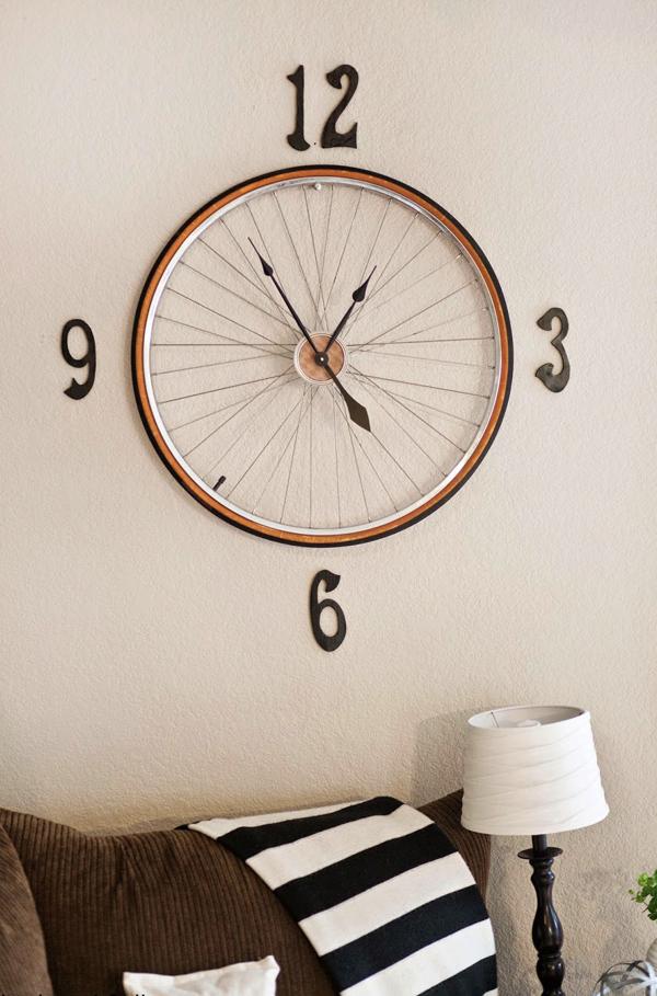 Aparador Westwing ~ 20 Ideias de Artesanato Feito com Aro de Bicicleta Artesanato Passo a Pa