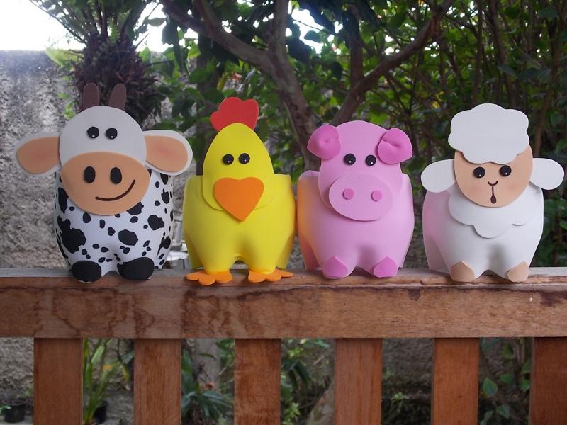 Aparador Walmart ~ 27 Ideias de Artesanato em EVA para Festa Infantil