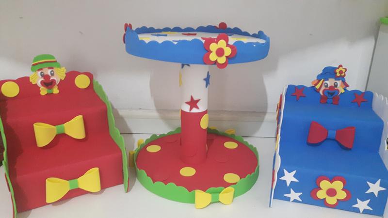 Aparador Hall De Entrada Apartamento ~ 27 Ideias de Artesanato em EVA para Festa Infantil