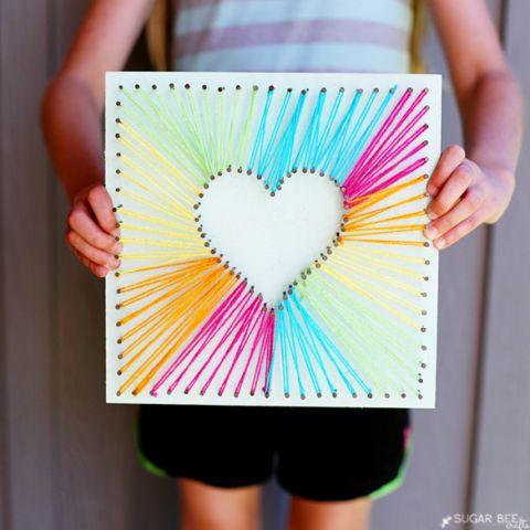 24 ideias de artesanato para dia das m es artesanato for Crafts for 7 year old girls