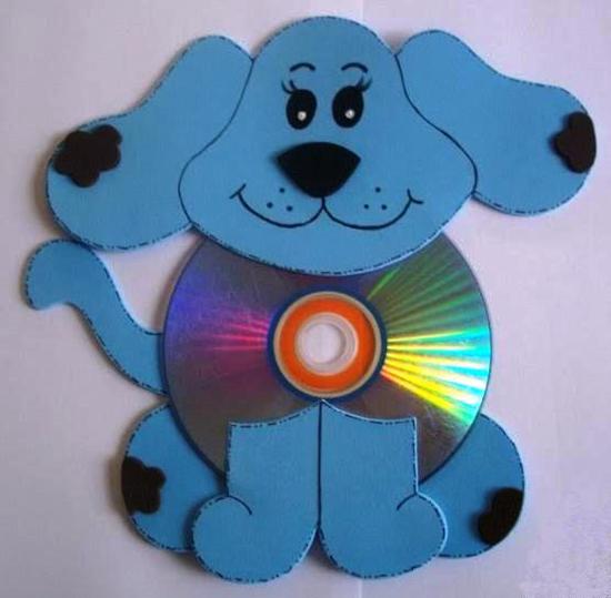 Dicas de Artesanatos Feitos com EVA e CD