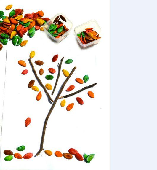 Dicas de Artesanatos Feitos com Sementes