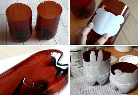 Dicas de Artesanatos com Garrafinha de Refrigerante