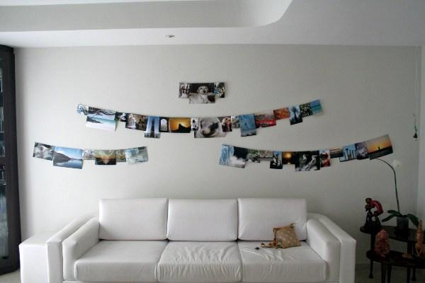 Dicas de Porta Fotos de Parede Artesanal