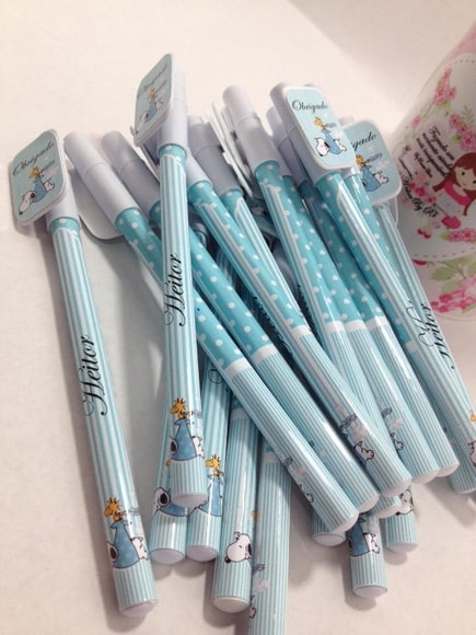 caneta para lembrancinha maternidade